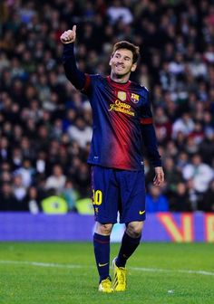 Lionel Messi plays for FC Barcelona and one of the most famous football player in the World, because he's really good at football. Messi and his football team has more than 5 titles, one of them is Spanish Championship, as they have won 6 time.