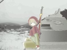 Little Red Hood Got hers Gun by migiris