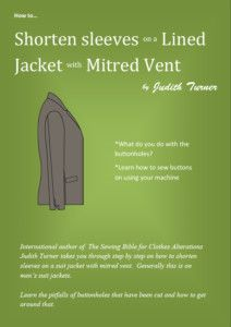 Jacket mitred vent