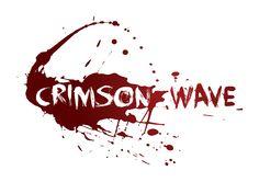 Crimson Wave Column Wrap, Waves Logo, Logo Design, Graphic Design, Typography, Logos, Art, Letterpress, Art Background