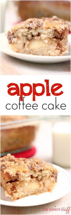 Apple Coffee Cake from Six Sisters' Stuff