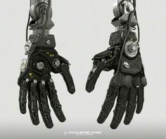 Robotic Hands by Shyne