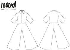 The Perilla Jumpsuit - Free Sewing Pattern - Mood Sewciety