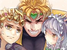 See more 'JoJo's Bizarre Adventure' images on Know Your Meme! Jojo Anime, Anime One, Chica Anime Manga, Otaku Anime, Pokemon Manga, Anime Crossover, Best Crossover, Touhou Anime, Jojo Parts