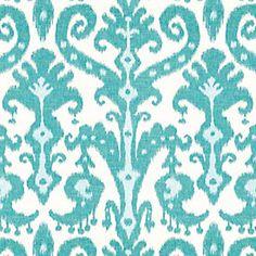 Tahiti Peacock Fabric by the Yard
