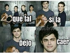 Read ◕‿◕ from the story Frases de cazadores de sombras ➰ by (MadKat) with 282 reads. Teen Wolf Memes, Cassandra Clare, Shadowhunters Series, Book Memes, Book Fandoms, Funny Relatable Memes, I Love Books, Hush Hush, Fangirl