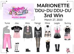 Marionette-official on ShopLook Stage Outfits, Kpop Outfits, Fashion Outfits, Womens Fashion, Kpop Girl Groups, Kpop Girls, Outfit Maker, My Wardrobe, Korean Fashion