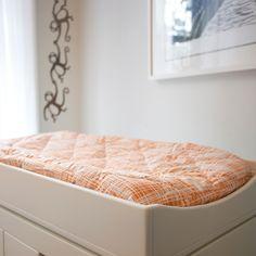 Argington Bedding Plaid Organic Changing Pad Cover @Layla Grayce