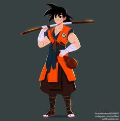 Son Goku , Julio Cesar on ArtStation at https://www.artstation.com/artwork/son-goku-abbee06f-5fb2-43ef-97c8-2ac8000338a0