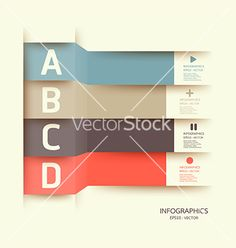 Modern design template can be used for infograph vector 1090510 - by pongsuwan on VectorStock®