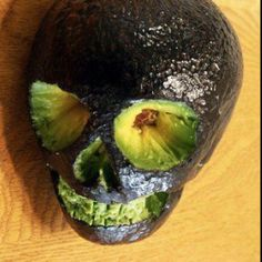rad avocado skull