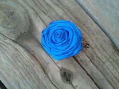 Rolled Fabric Flower Hair Clip ♥ Brynly's Bows - Find us on Facebook!