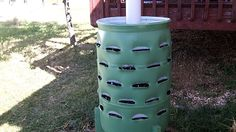 In this episode of Around the Home, I show how to construct a garden barrel capable of housing 50 plants in a four square foot area. It includes a worm compo...