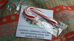 Y esto le regaló la niña Micxy a Santi