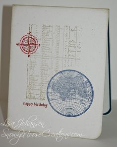 The Friday Mashup: One Layer Cards with a Nautical Theme