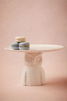 Nocturna Cake Stand in Décor Tabletop at BHLDN