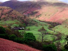'The Red Valley' ~ the Lake District of northern England in Cumbria