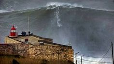 Ola gigante en Nazare (Portugal) FOTÓGRAFO: TO MANE | Efe