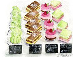 MERMAID'S PALETTE: Watercolors- Trip to Paris