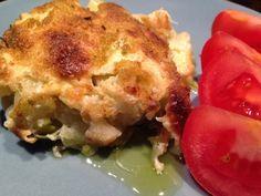 """Patrícia is cooking.: Sem """"bacalhau"""" com natas ou alho francês com natas..."""