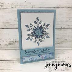 Snowflake Splendor Suite Stamped Christmas Cards, Stampin Up Christmas, Xmas Cards, Holiday Cards, Cards Diy, Christmas Tag, Snowflake Cards, Christmas Snowflakes, Stampin Up Karten