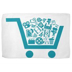 Cinema a cart kitchen towel