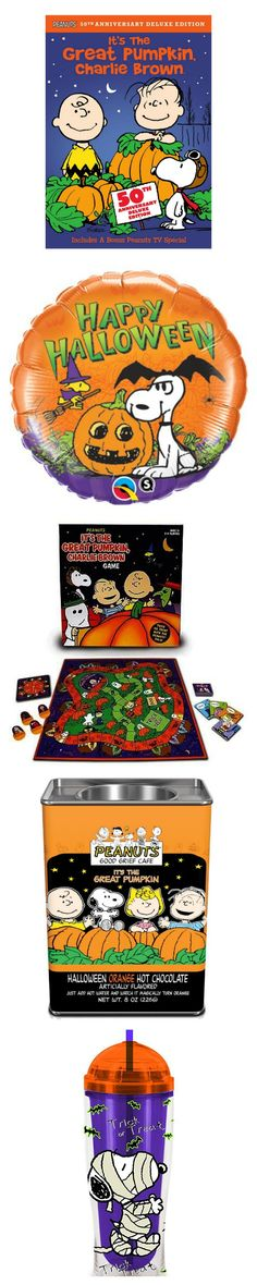 "Celebrate the 50th anniversary of ""It's the Great Pumpkin, Charlie Brown"" in style! Snoopy, Charlie Brown and the gang have decor, videos, games and more for your Halloween. Start shopping at CollectPeanuts.com."