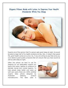 Best Organic Pillows Made With Latex Helps To Improve Your Health Standards