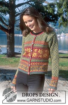 DROPS 67-20 - DROPS Fair Isle cardigan in Alpaca - Free pattern by DROPS Design