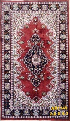 New Arrival at #AbeeRugs  #Superfine #Kashmir #Silk #Red with #Centre #Medallion & #Blue #Border. http://abeerugs.com/Kashmir-Silk-Rust-and-Blue-Border-Carpet-Traditional-Rugs?search=ar1149  For info contact us at 1800-88-7847 or visit our webpage www.abeerugs.com