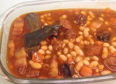 Judias tipo fabada para #Mycook http://www.mycook.es/cocina/receta/judias-tipo-fabada