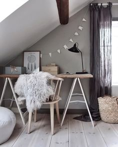 A lovely kid's study space - Is To Me