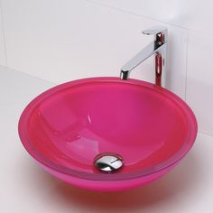 Found it at Wayfair - DecoLav Translucence Round 19mm Glass Vessel Bathroom Sinkhttp://www.wayfair.com/DecoLav-Translucence-Round-19mm-Glass-Vessel-Bathroom-Sink-1019T-DLV1331.html?refid=SBP.rBAZKFPyvhQzo2EcckEBAu5RUpzqI0nYpQjBeTgRGi8