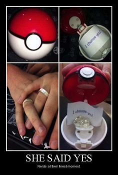 I CHOOSE YOU! Great proposal