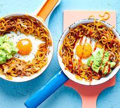 Sweet potato hash, eggs & smashed avo
