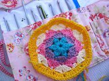 Crochet Hexagon Tutorial... part 1