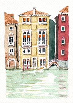 graphisme et illustration - Lausanne Lausanne, Graphic, Illustration, Painting, Art, Venice, Art Background, Illustrations, Painting Art