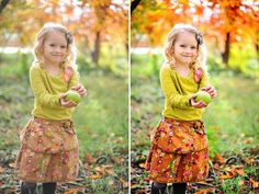 See how Crave Photography edits and color pops her images in this before and after blueprint fan share.