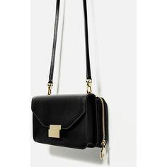 WALLET CROSSBODY BAG - Crossbody bags-BAGS-WOMAN   ZARA United Kingdom (125 SEK) ❤ liked on Polyvore featuring bags, cross body, crossbody bags and crossbody wallet