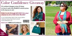 Add some confidence to your Fall Style! #MMColorConfidence  #ad @monroeandmain 8/31st