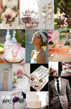 minus the wedding theme...love the spring feel and pretty jewels. pretty glasses, pretty cake, pretty flowers. excited for spring