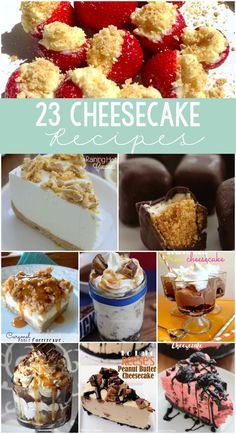 23 Unique Cheesecake Recipes