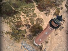 Silver Lake lighthouse on Lake Michigan. One of the most beautiful places we've ever been!!