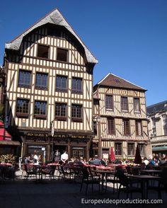 Troyes in der Region Champagne-Ardenne in Frankreich