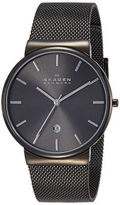 Skagen Men's SKW6108 Ancher Grey Mesh Watch Skagen
