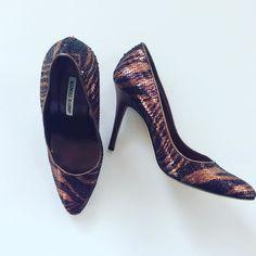 #ManoloBlahnik #Pumps #AnimalPrint #Sequins | Size 7.5/8 | $175! Call for more info (781)449-2500. #FreeShipping #ShopConsignment  #ClosetExchangeNeedham #ShopLocal #DesignerDeals #Resale #Luxury #Thrift #Fashionista
