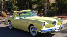 LITTLE ORPHAN AUTOS- 1954 Kaiser-Darrin sport convertible