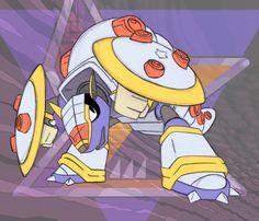 Mega Man X - Armored Armadillo by dA-FT on DeviantArt