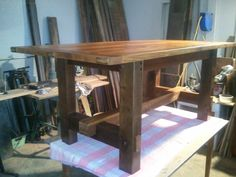 Mission Timber Framed Table by The_Recycler