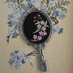 보다 쉽게 수놓는 방법을 가르치기 위한 기법  #프랑스자수 #야생화자수 #야생화느낌자수 #embroidery